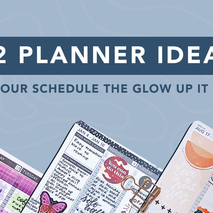 42 Planner Ideas to Give Your Schedule the Glow Up It Deserves