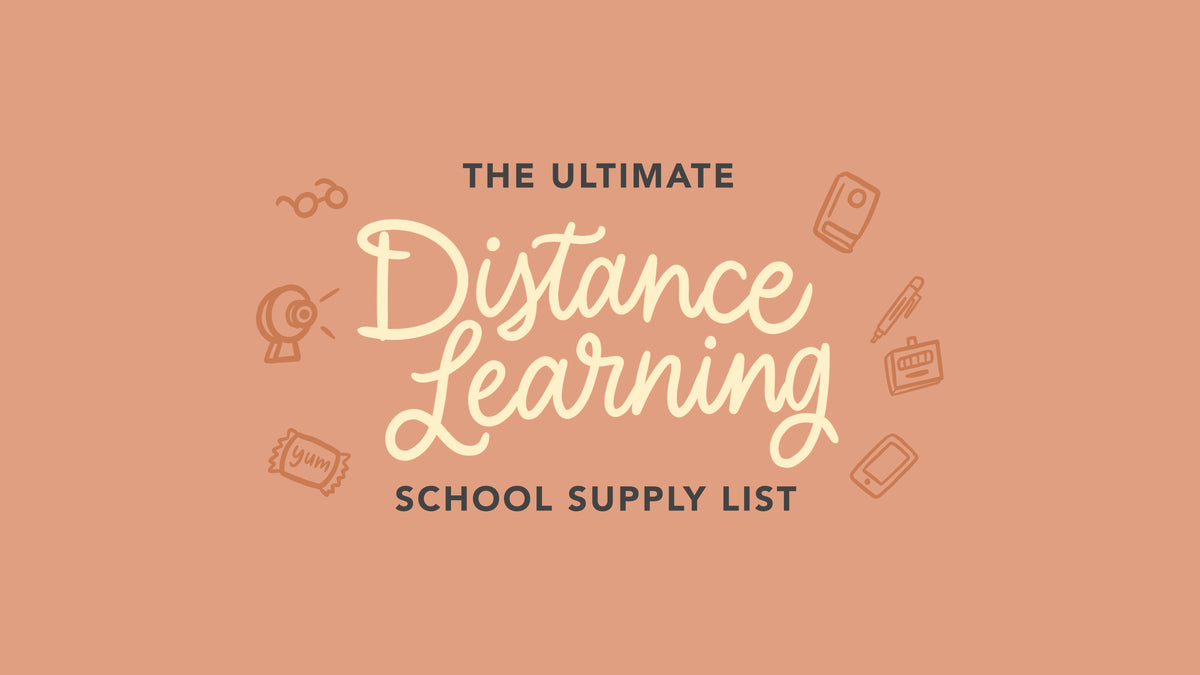 The Ultimate School Supplies List For Distance Learning You Didn T Kno Passion Planner