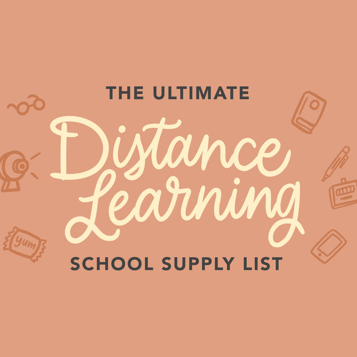 The Ultimate School Supplies List for Distance Learning You Didn't Know You Needed in 2020