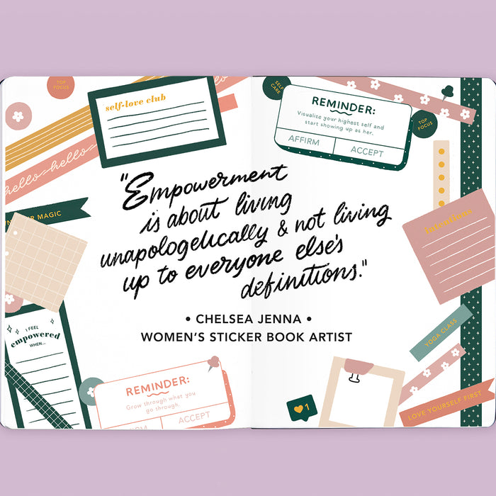 Sticker Book Artist Interview: Chelsea Jenna