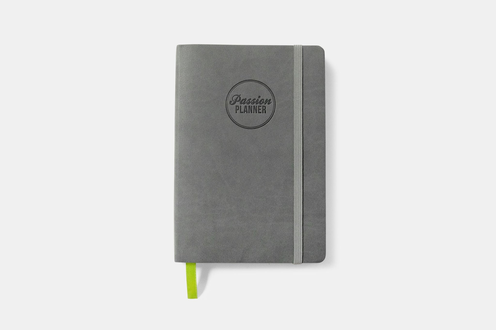 Daily Undated Calm Gray Passion Planner