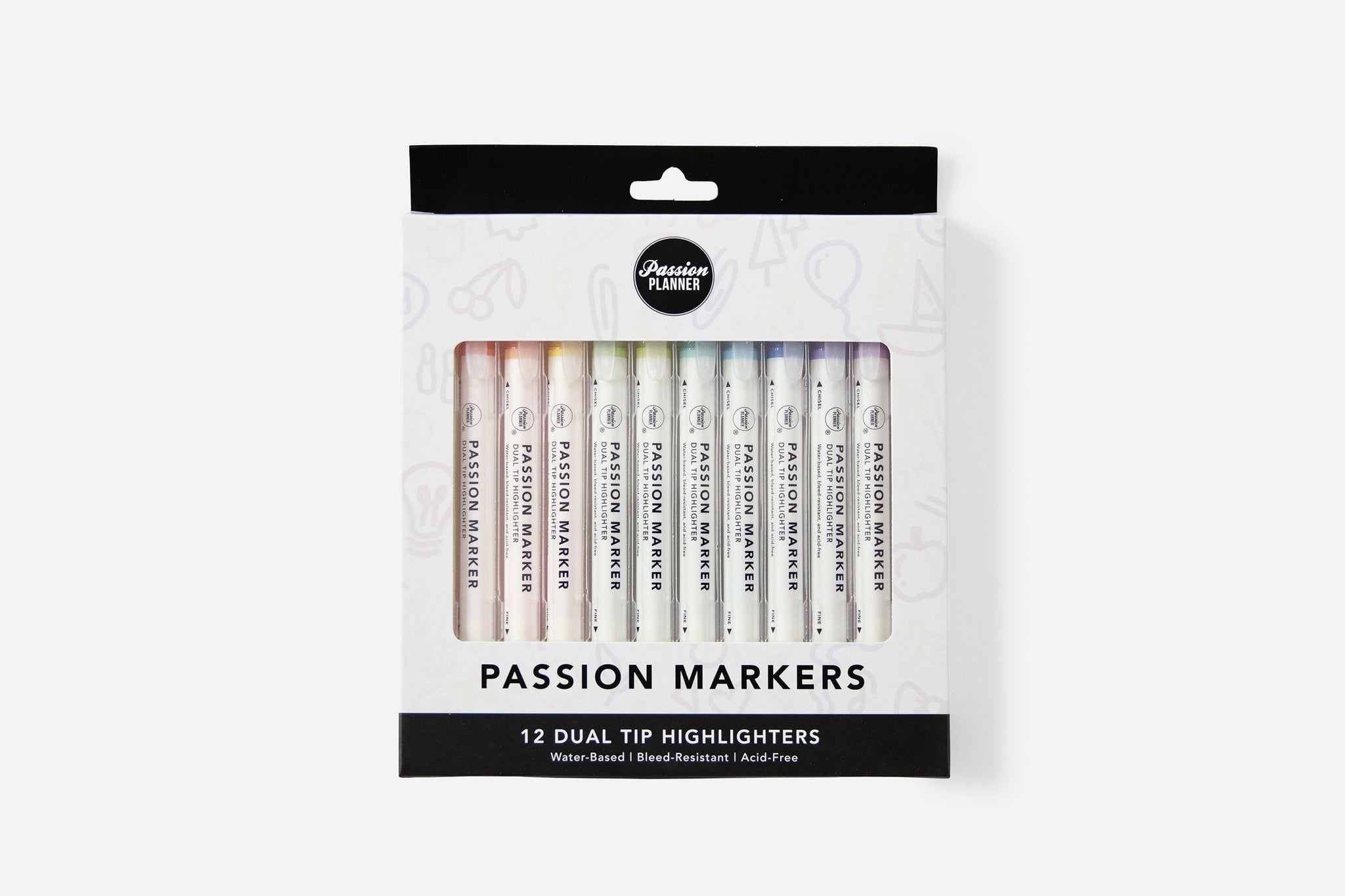 12 Pack of Passion Markers