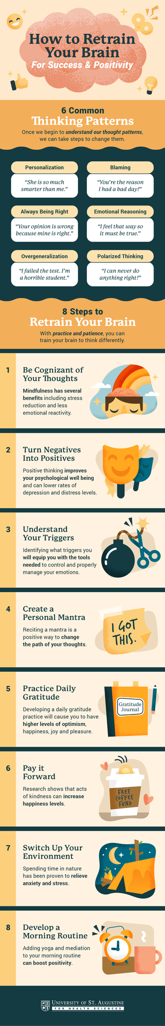 Infographic of How to Retrain Your Brain for Success and Positivity
