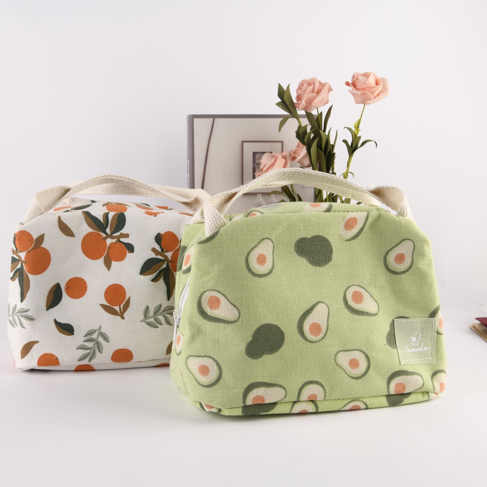 Aesthetic Lunchbox with Avocado Design