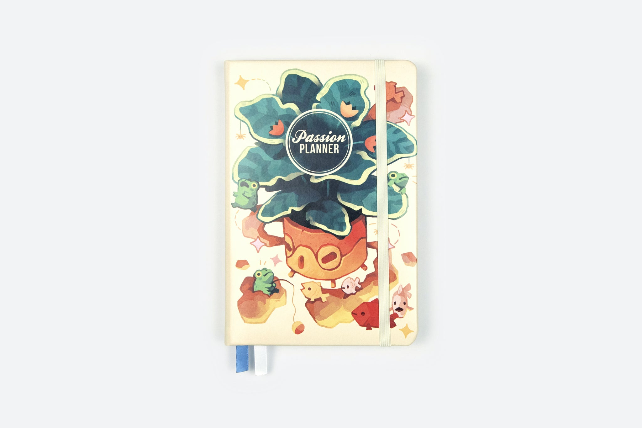 Academic Passion Planner in Playful Pond