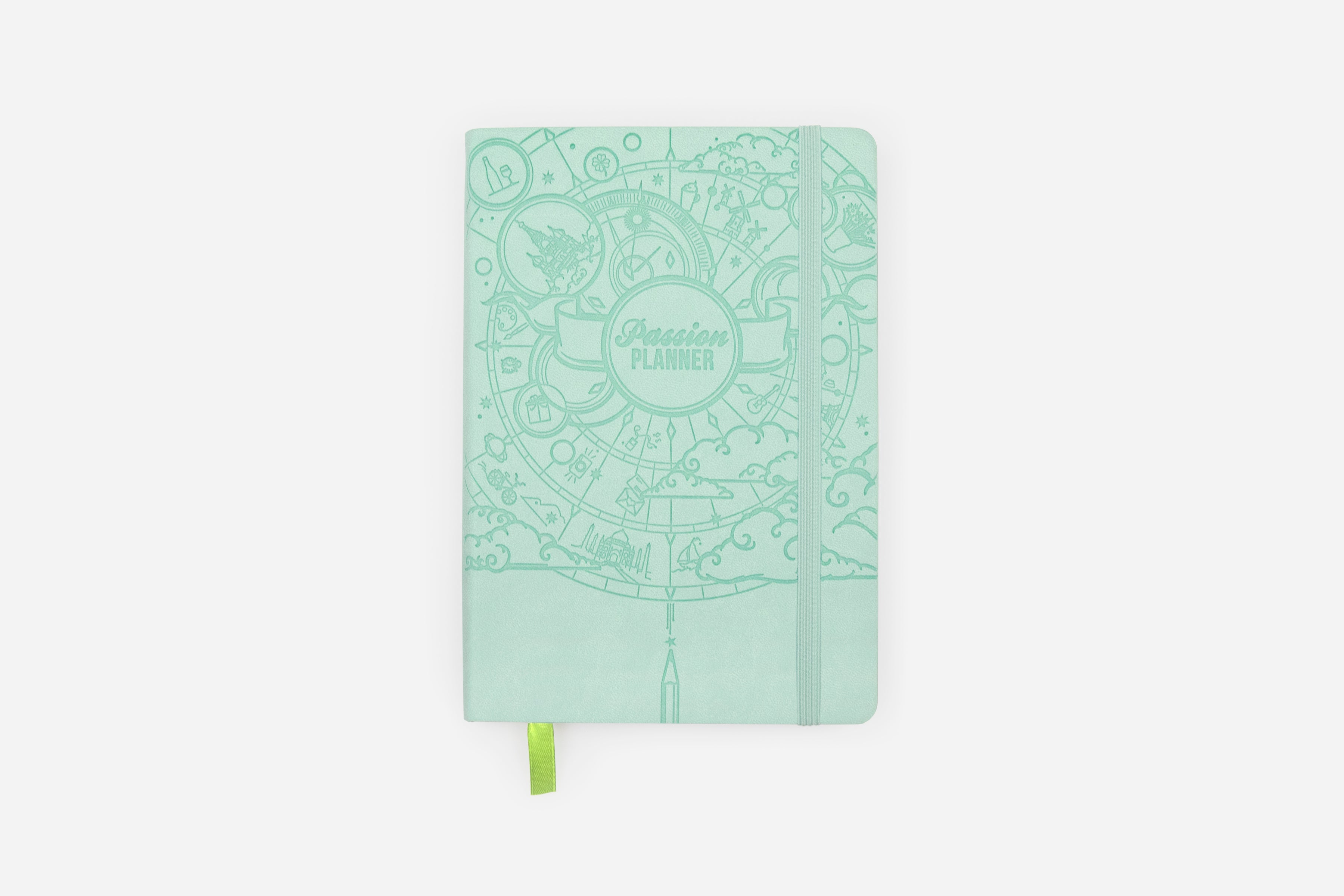 Weekly Undated Cosmic Mint - Passion Planner