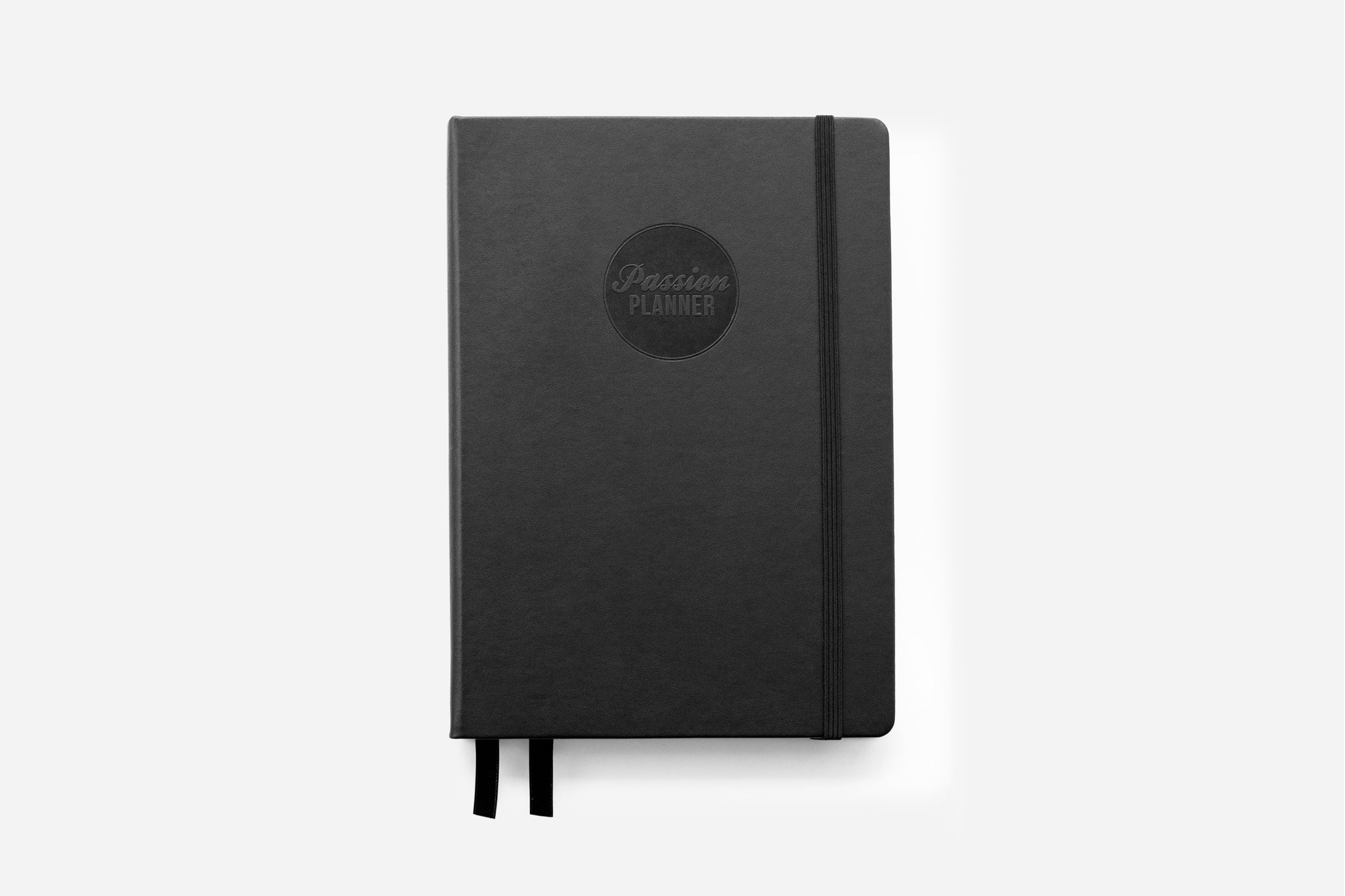 Weekly Undated Hardcover Elite Black Passion Planner