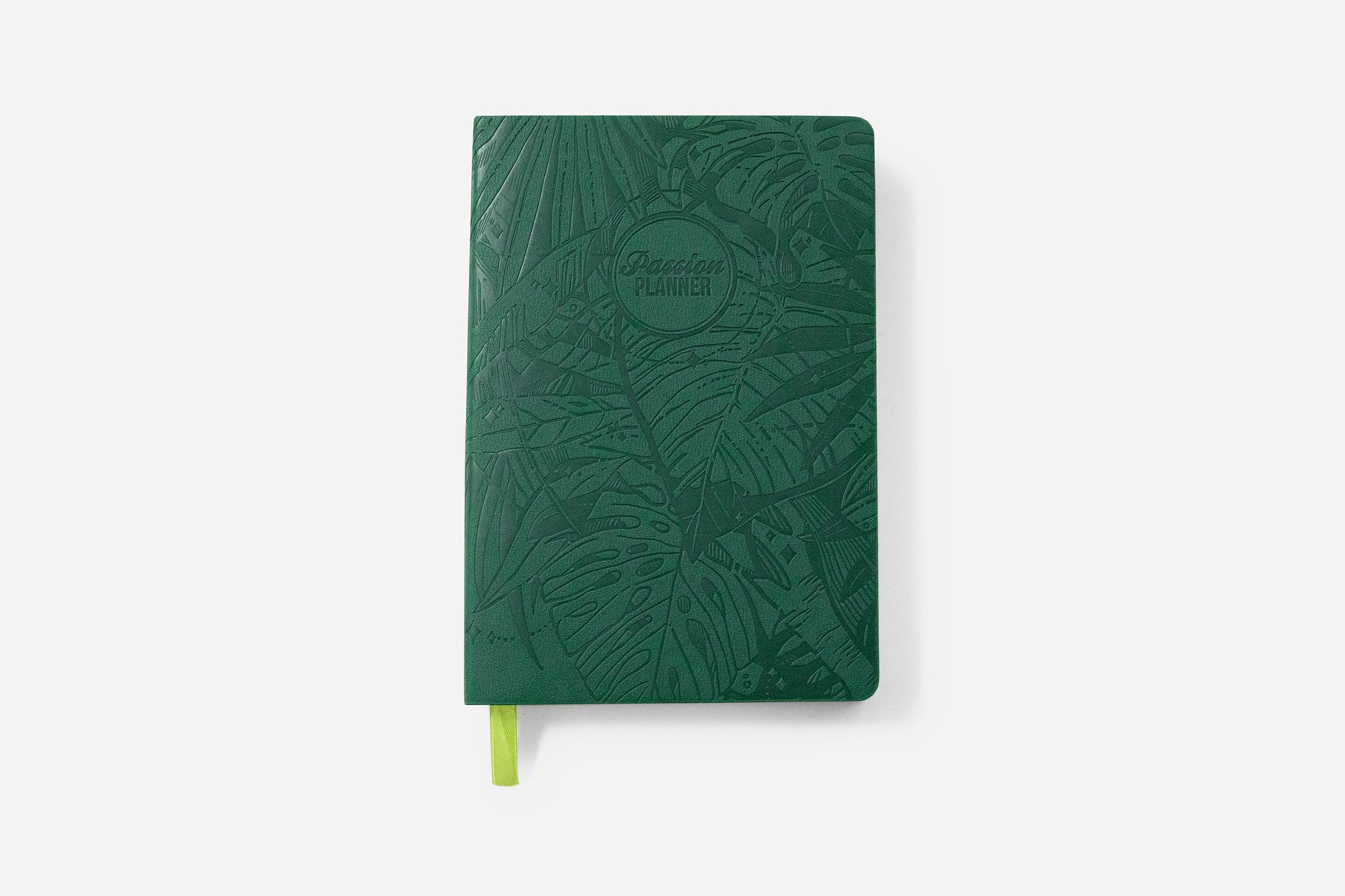 Weekly 2021 Annual Forest Green Passion Planner