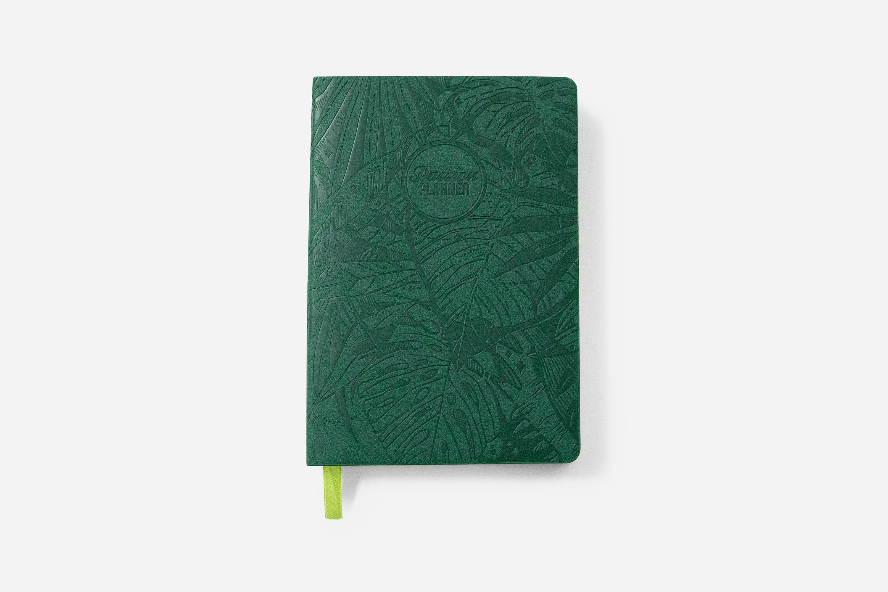 Weekly 2021 Annual Forest Green - Passion Planner