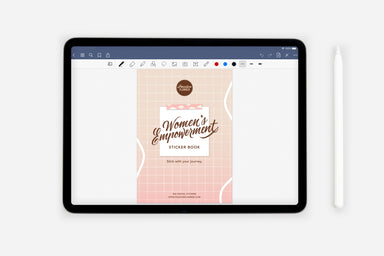 Digital Women's Empowerment Sticker Book - Passion Planner