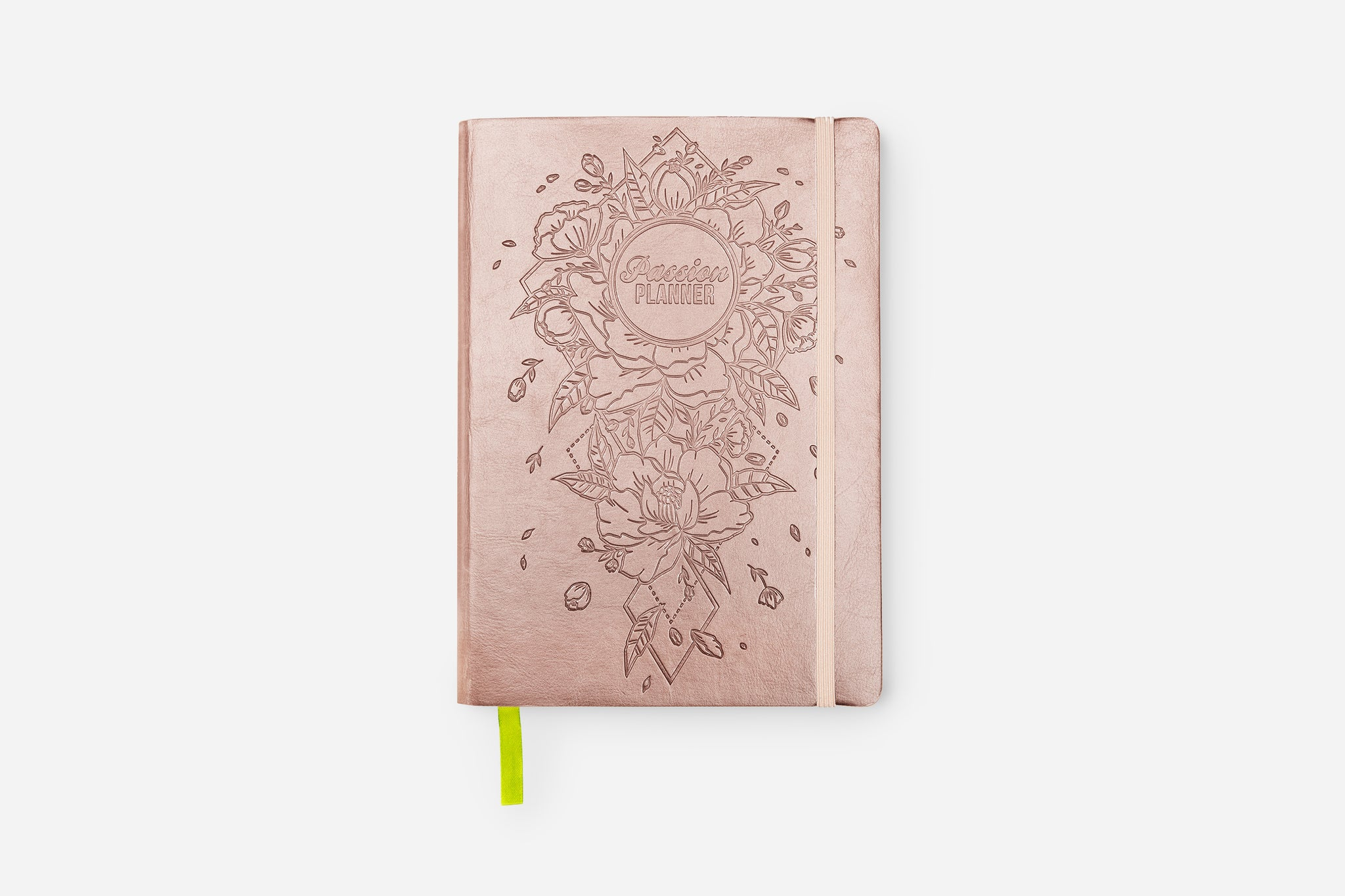 Weekly 2021 Annual Radiant Rose Gold Passion Planner