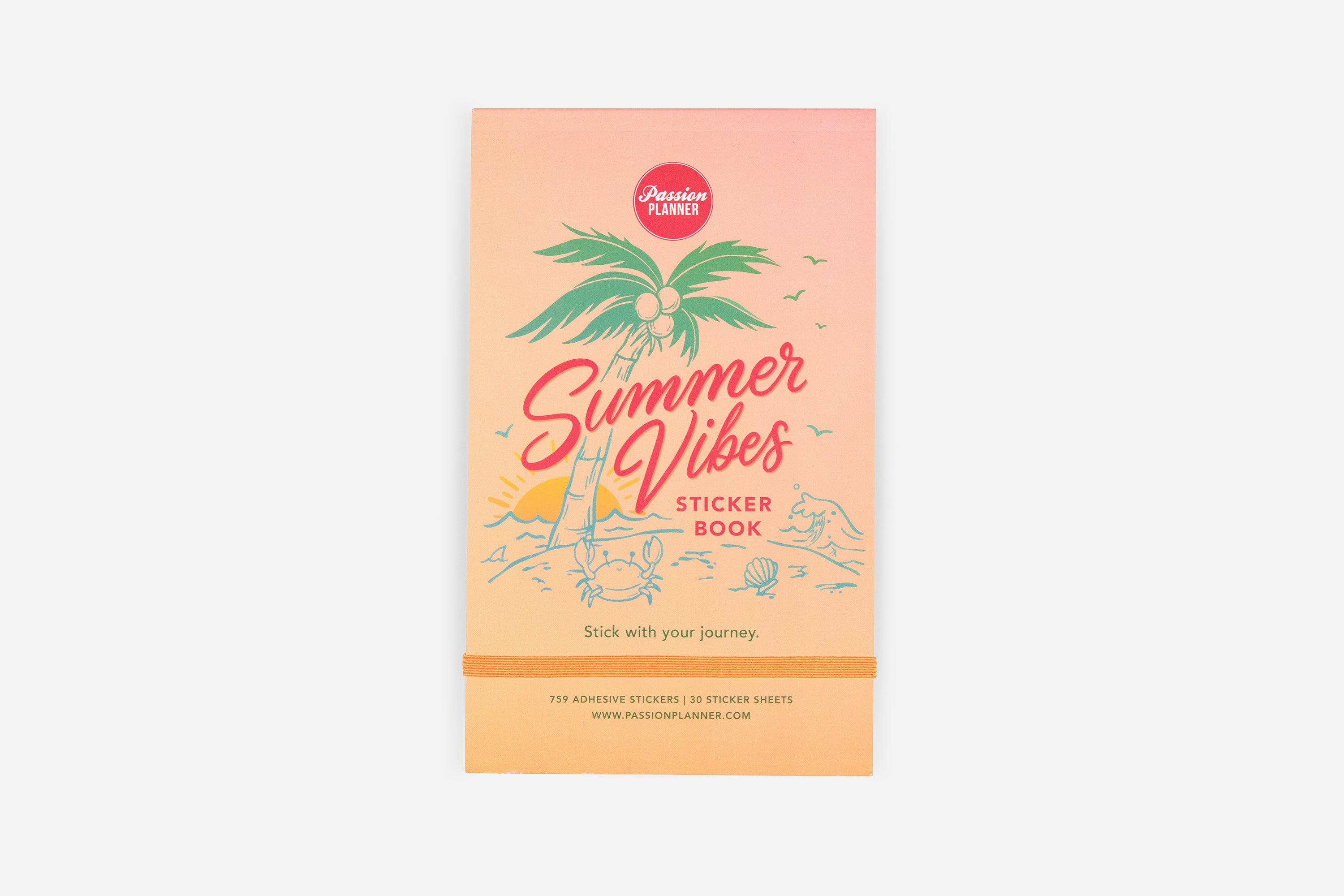 Summer Vibes Sticker Book