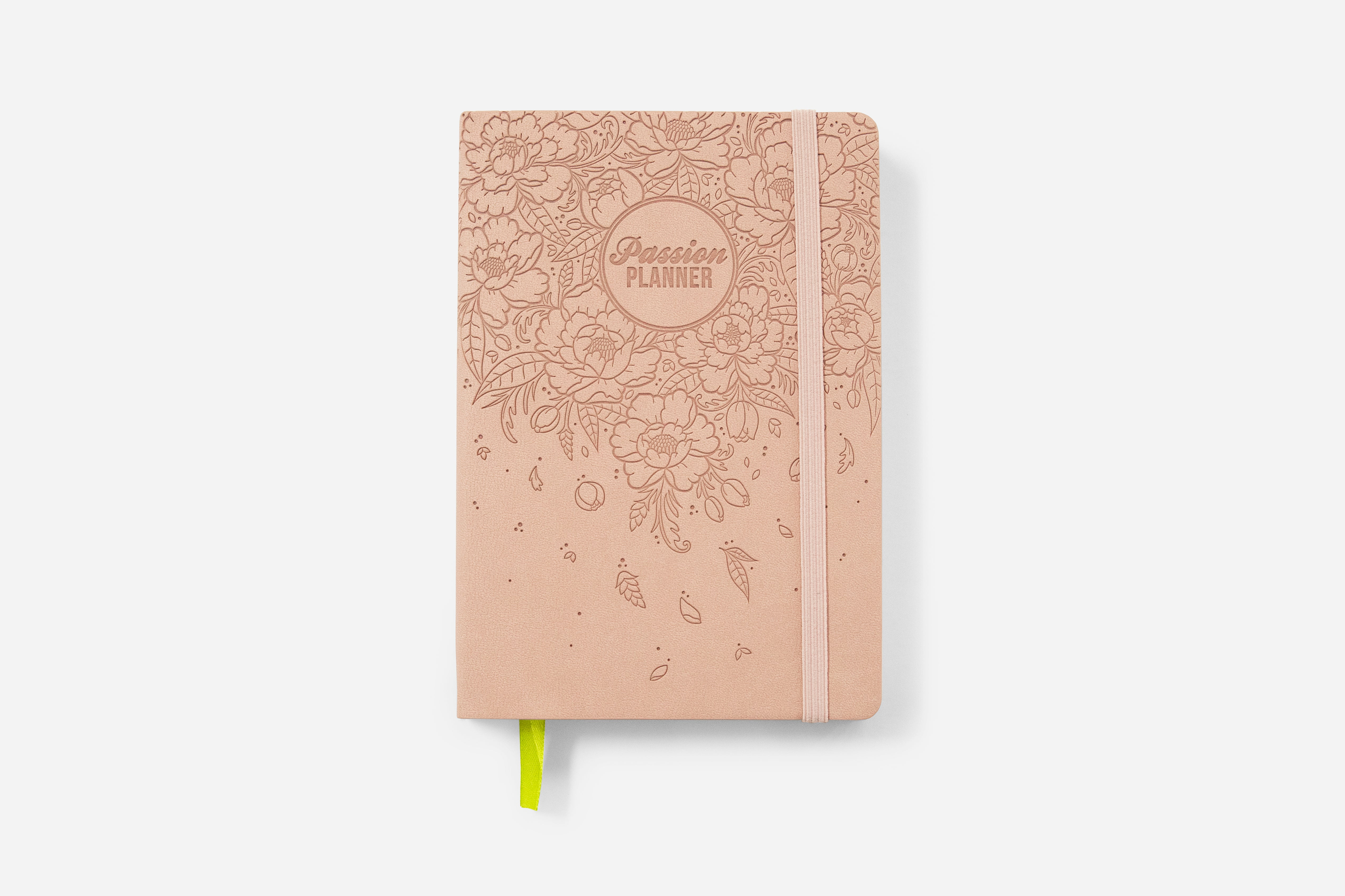 Daily Undated Blush Blossom - Passion Planner