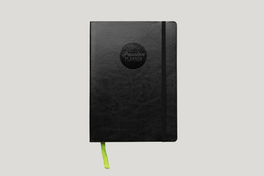 Weekly 2020 Annual Elite Black - Passion Planner