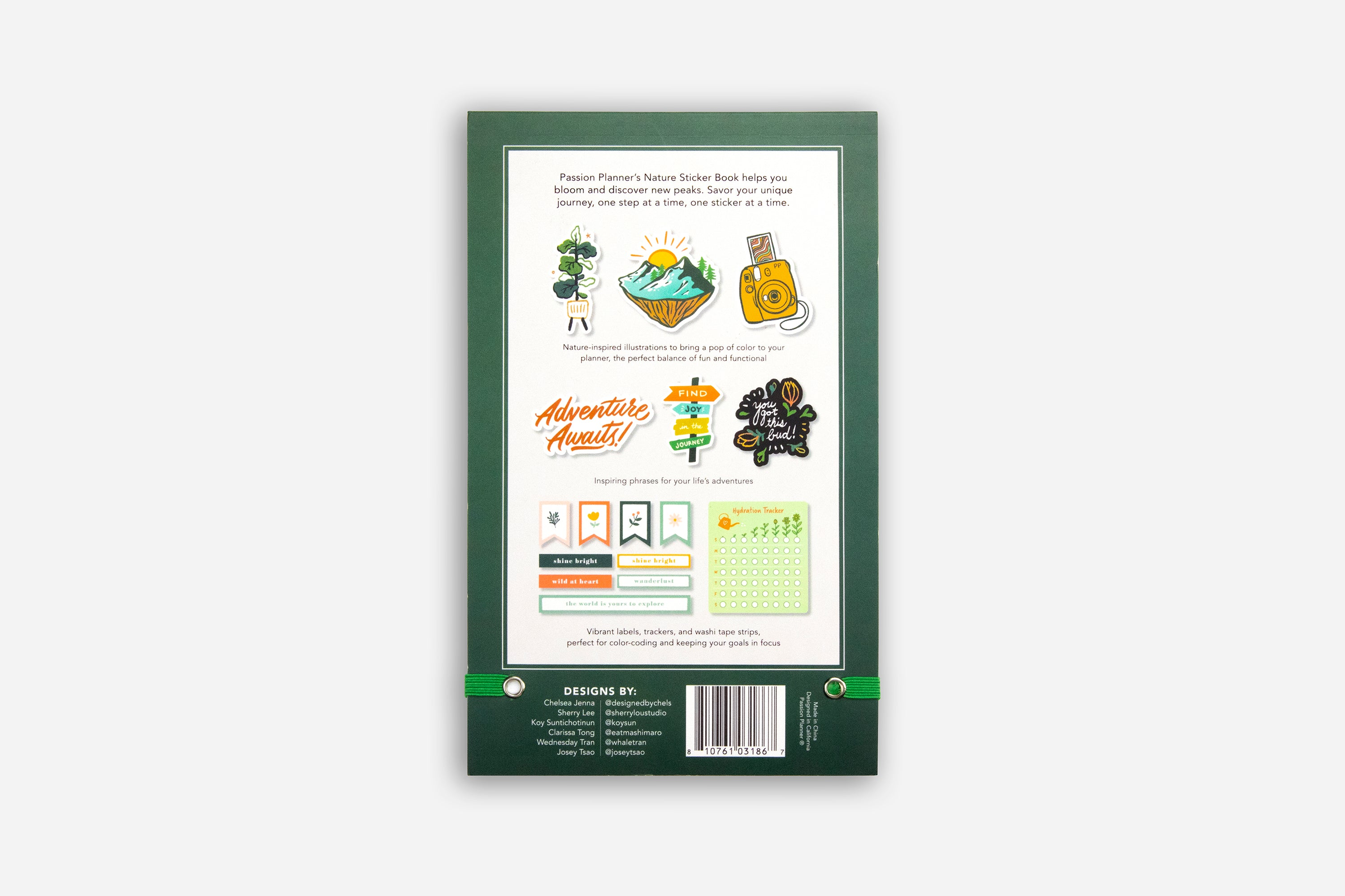 Nature Sticker Book
