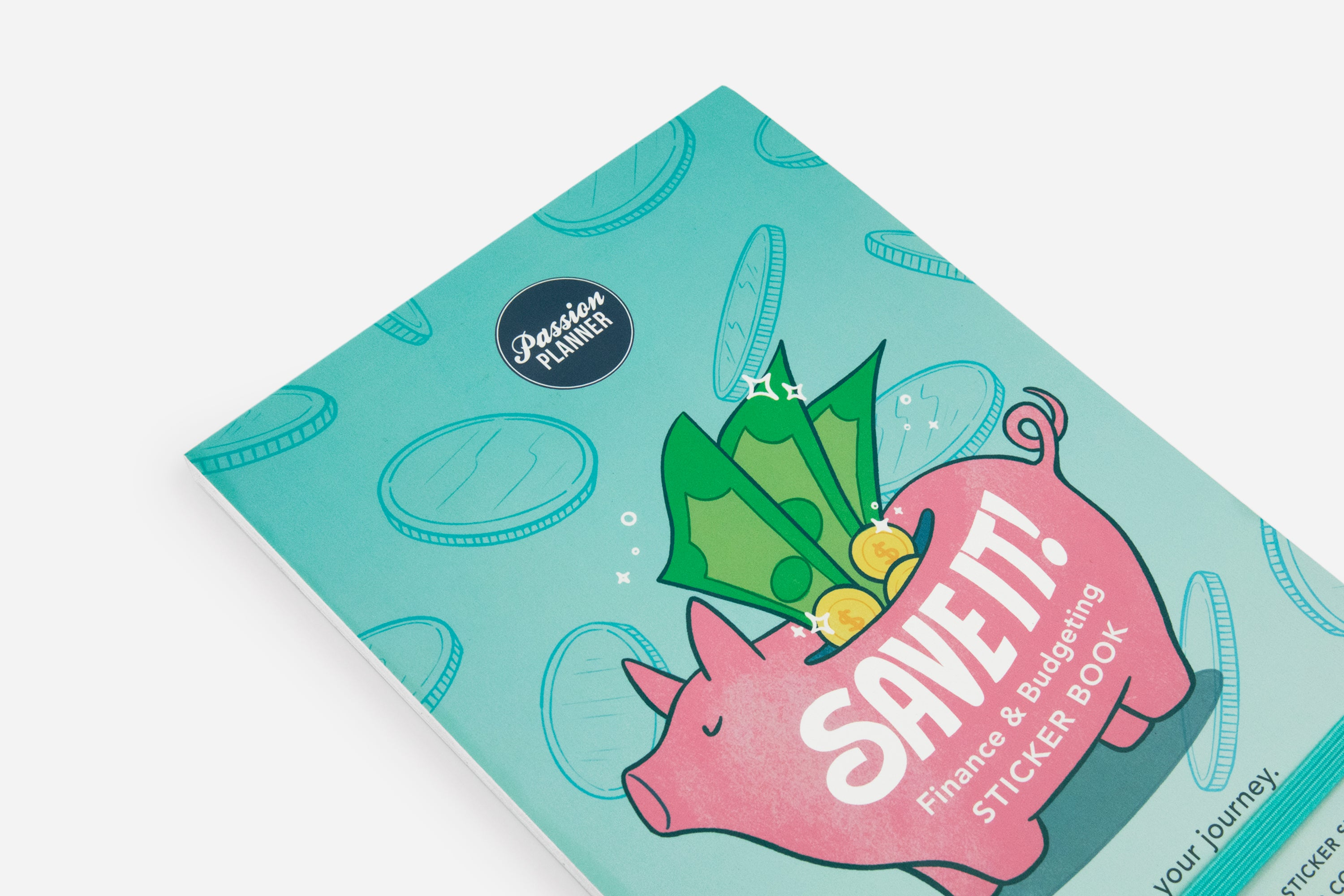 SAVE IT! Finance & Budgeting Sticker Book - Passion Planner
