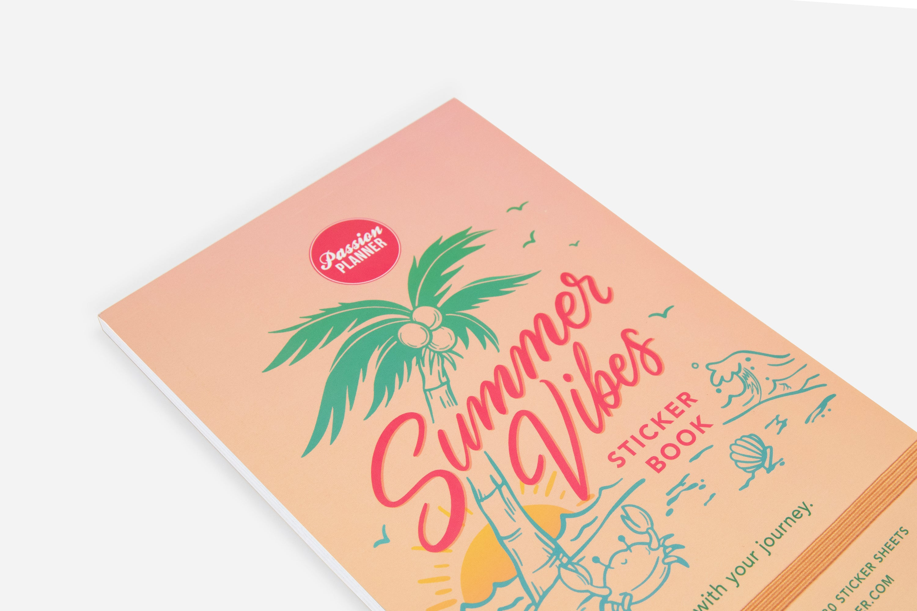 Summer Vibes Sticker Book - Passion Planner