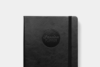 Daily Undated Elite Black - Passion Planner