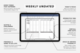 Digital Weekly Undated Elite Black - Passion Planner