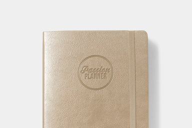 Daily Undated Luxe Champagne - Passion Planner