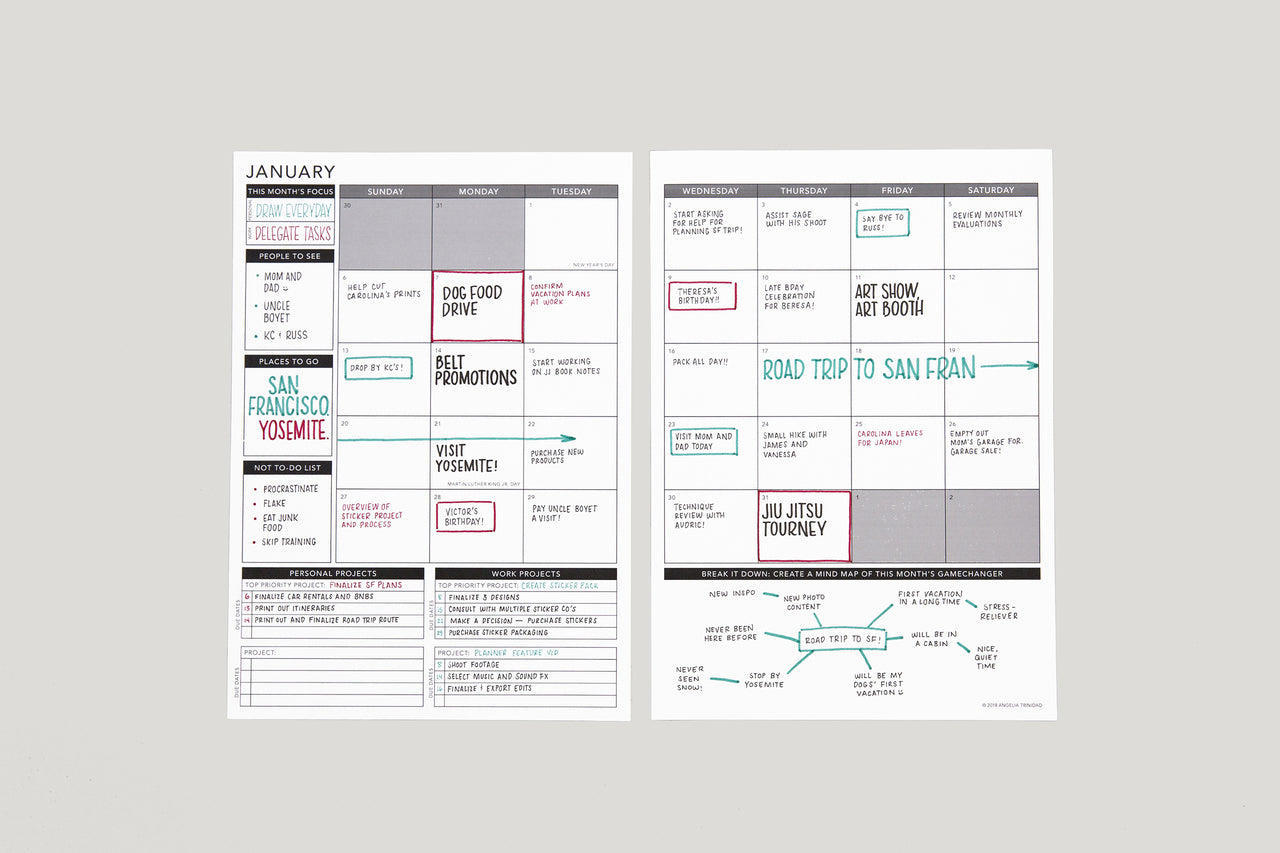 Weekly 2020 Annual - Passion Planner