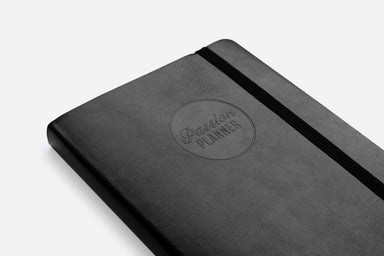 Weekly Undated Elite Black - Passion Planner
