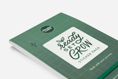 Ready Set Grow Sticker Book - Passion Planner