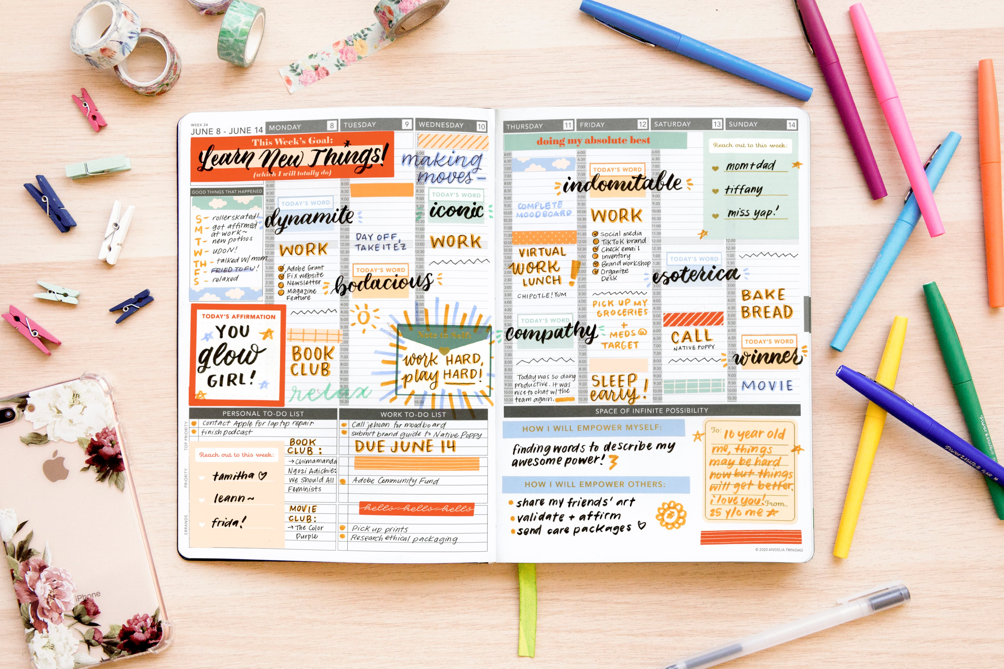 Women's Empowerment Sticker Pack V2 - Passion Planner