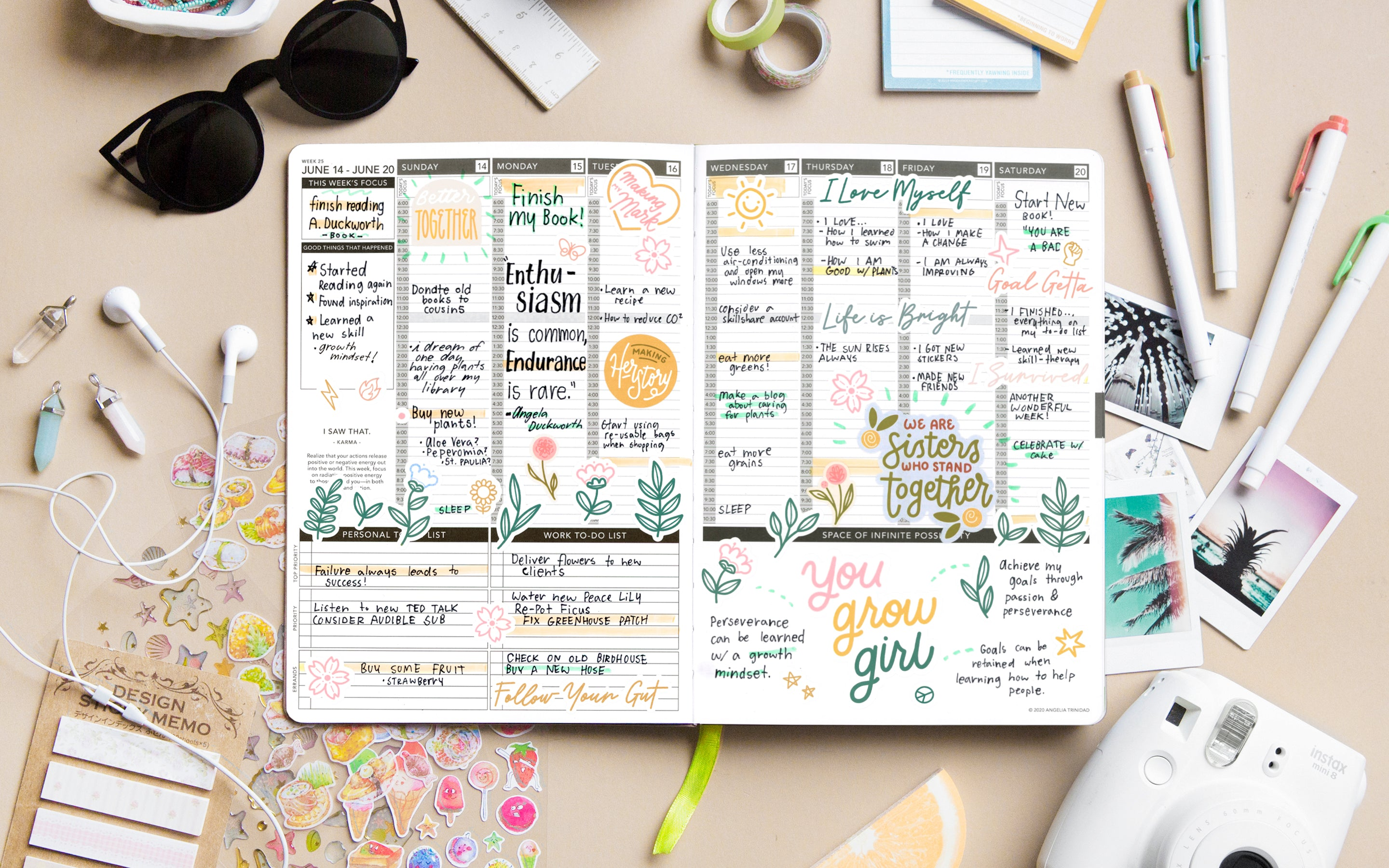 Women's Empowerment Sticker Book - Passion Planner