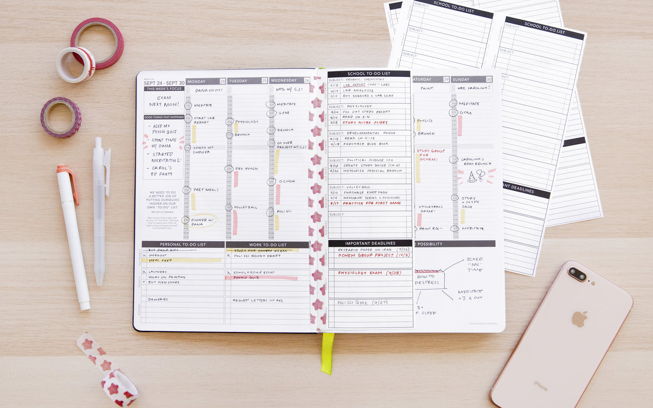 School To-Do List - Passion Planner