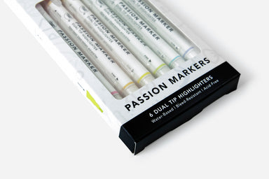 Passion Markers (6 Pack) - Passion Planner