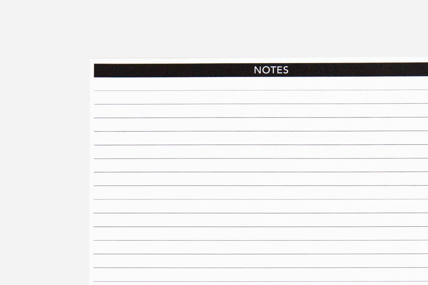 Note Page Pdf Free Printable Passion Planner