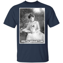 Load image into Gallery viewer, Edith Wharton  T-Shirt