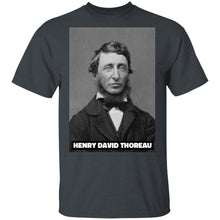 Load image into Gallery viewer, Henry David Thoreau T-Shirt