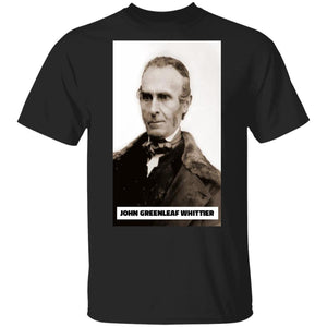 John Greenleaf Whittier. T-Shirt