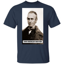 Load image into Gallery viewer, John Greenleaf Whittier. T-Shirt