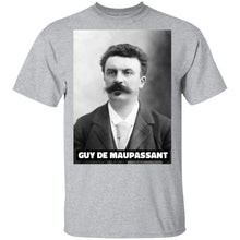 Load image into Gallery viewer, Guy De Maupassant T-Shirt
