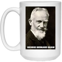 Load image into Gallery viewer, George Bernard Shaw Coffee Mug