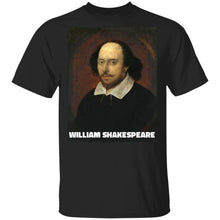 Load image into Gallery viewer, William Shakespeare T-Shirt
