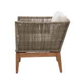 Beverly Lounge Chair – 5mm weave - Outdoor Wicker