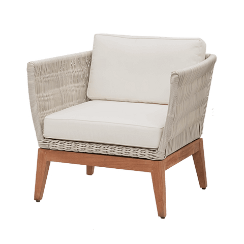 Beverly Lounge Chair – 5mm weave - Middle Station Furniture