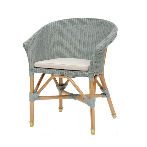 Brindisi Arm Chair Lloyd Loom - Middle Station Furniture