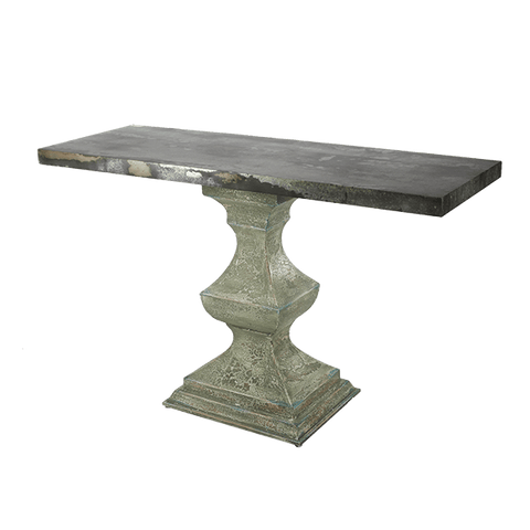 Evergreen Pedestal Console - Middle Station Furniture
