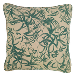 Green Jungle Print Outdoor Cushion - Middle Station Furniture