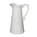Louis Fleur-de-Lis Pitcher - Middle Station Furniture