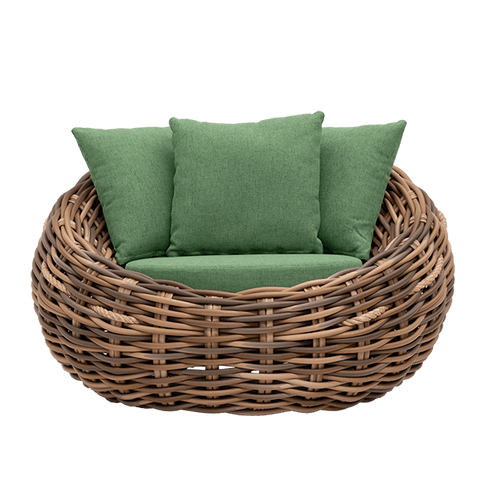 Cocoon Lounge Chair - Outdoor Wicker