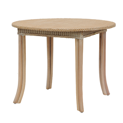 Samford Square Lloyd Loom Table - Middle Station Furniture