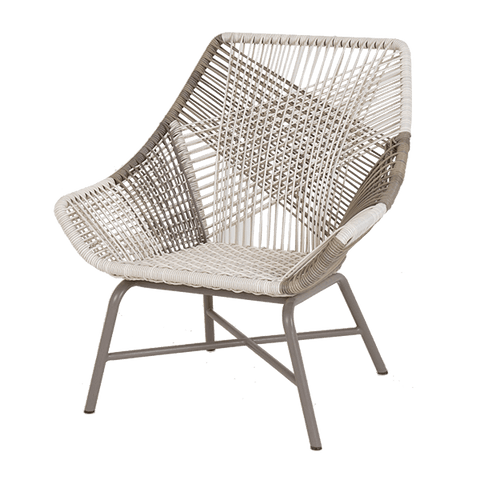 String Lounge Chair Ivory & Capu - Middle Station Furniture