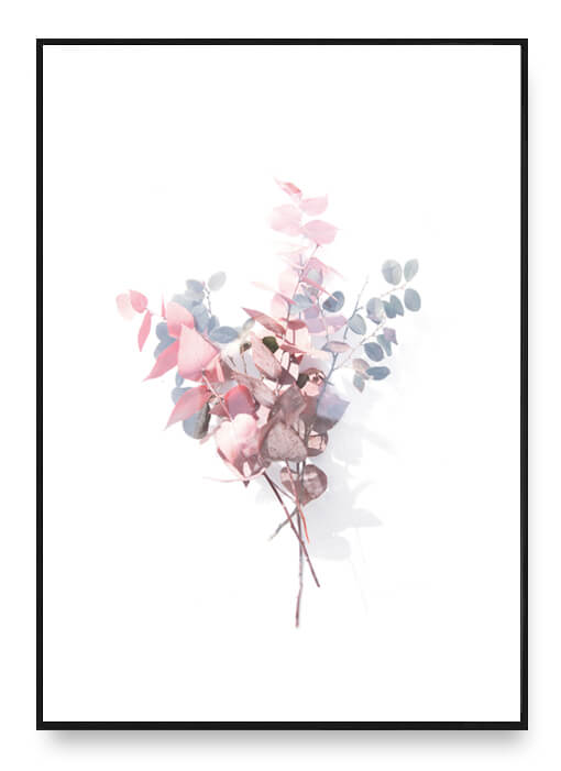 Bouquet Of Leaves Poster