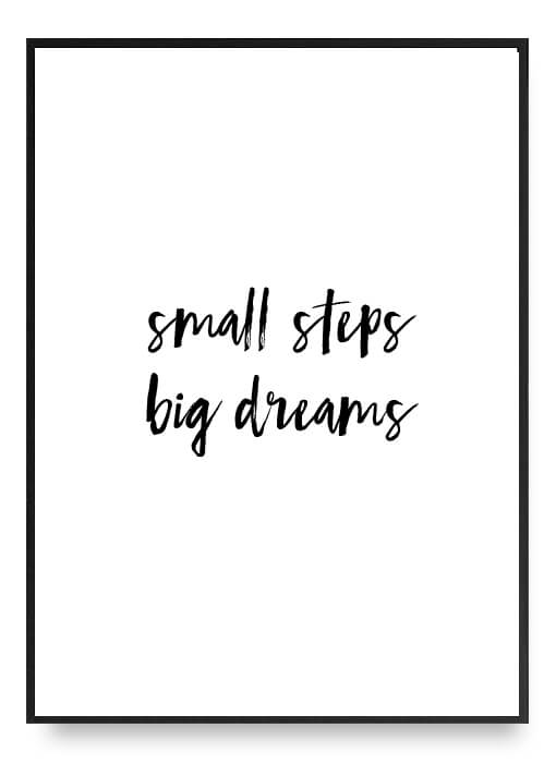 Small Steps, Big Dreams Poster